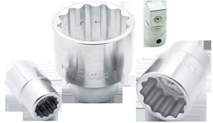 stecknuss schl ssel 3 4 sw 55 mm vielzahn 12 kant nu adapter auf 1 2 zoll. Black Bedroom Furniture Sets. Home Design Ideas